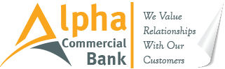 alpha commercial bank